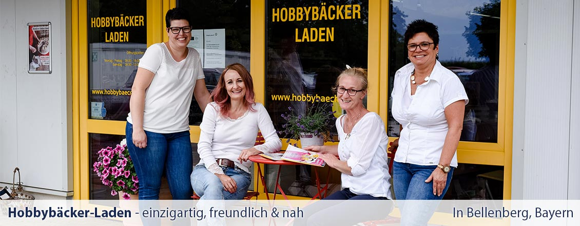 Hobbybäcker-Laden in Bellenberg - Team