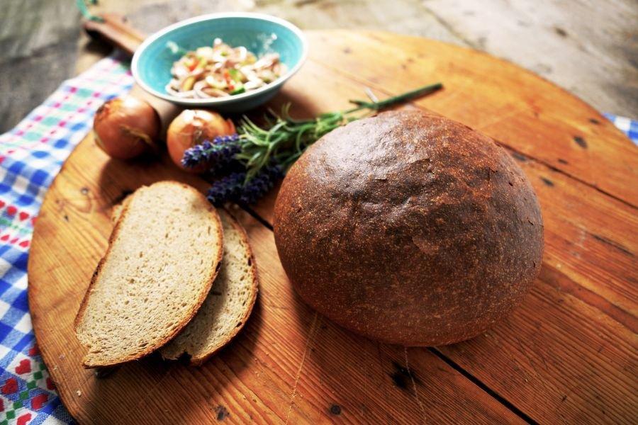 Backset: No et hudla, i back mei Brot halt sel