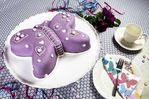 3d Kuchen: Kuchenform Schmetterling 3D Aus Aluminium, 21x28x5 Cm