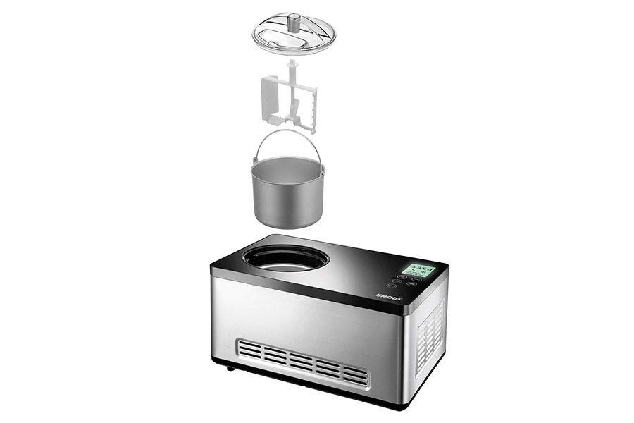 Eismaschine Gusto Unold + 100 g Eispulver Milcheisbasis bei Hobbybaecker.de