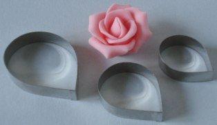 ausstecher set rose 3 tlg 3 7 4 5 5 5 cm edelstahl. Black Bedroom Furniture Sets. Home Design Ideas