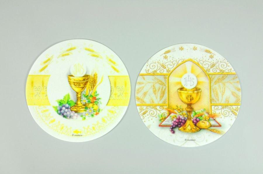Kommunion-Aufleger -Kelch- aus Oblate, Ø 20 cm - Hobbybäcker-Versand