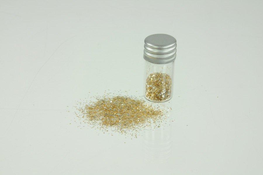 Gold/Silber-Flitter Edelmischung fein, 0,25 g
