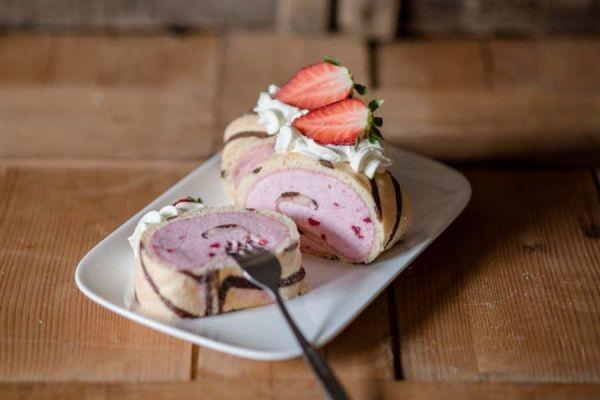 Erdbeer-Sahnestand 150 g