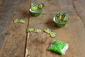 CupCake Dino Dekorations-Set für 24 Muffins
