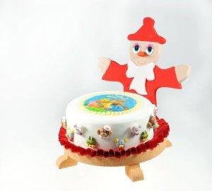 Tortenständer -Pinocchio- aus Styropor Ø 25 cm
