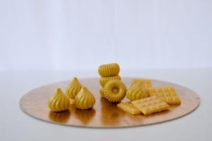 Gießform für Schokolade -12 Mini Tafeln- aus Silikon