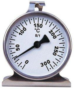 Backofen-Thermometer im Edelstahl-Gehäuse