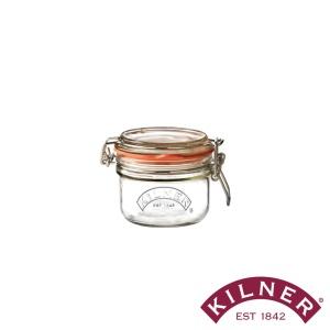 Einmachglas mit Bügelverschluss, rund, 125 ml, 11,5x8x7,5 cm