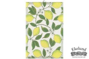 Geschirrtuch, Zitrone, 100 % Bio Baumwolle, 40x60 cm