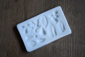 Modellierform -Blätter- aus Silikon