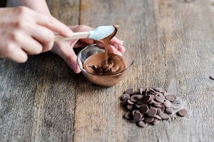 Schmelzschokolade braune Fettglasur, 250 g -ausverkauft-