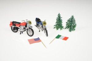 Motorrad-Set für Thementorten