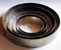Tortenring Alu, 22 cm Durchmesser 6 cm hoch