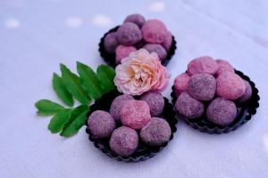 Ausgewählte Zutaten für Fruchtige Eispralinen