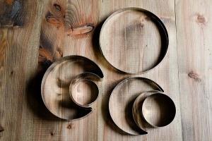 Kuchenbackformen-Set Mond 5-teilig