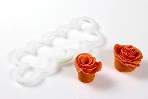 Ausstecher Rose, groß, 2 - 7 cm