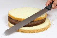 Tortenbodensägemesser 31 cm, Kunststoffgriff