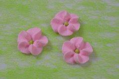 Blümchen - rosa -  32 Stück