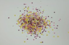 Mini-Blüten, 3,5 mm, 4-farbig, 100-g-Dose