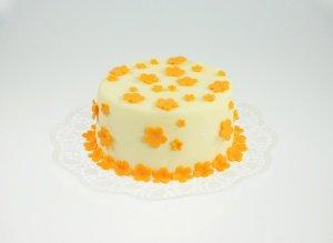 Modellier- und Rollschokolade Orange, 600-g-Dose
