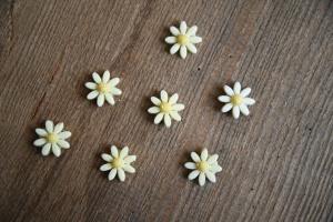 Gänseblümchen - Aufleger, Ø 2 cm, 28 Stück
