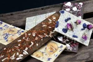 Gießform Schokoladen-Tafel modern (für 100g), 5 Stück
