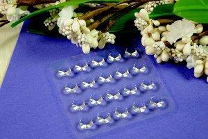 Diamanten -transparent- aus Gelatine, 20 Stck.