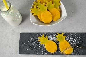 Ananas-Ausstecher, 7 cm aus Edelstahl