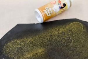 Glanz-Perlmutt-Farbspray goldfarben 50 ml