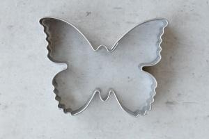 Ausstecher Schmetterling, Edelstahl, 5,5 x 4,5 cm