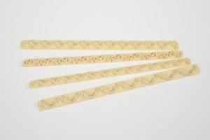 Randgarnier-Set für Girlanden, 4-teilig, aus Kunststoff