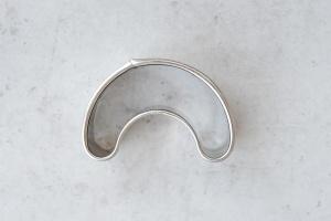 Ausstecher Kipferl, Edelstahl, 5,5 cm