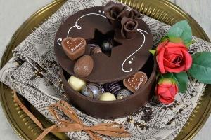 Modellier- und Rollschokolade Zartbitter, 600-g-Dose