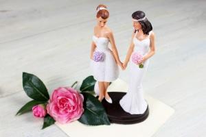 Brautpaar -Frauen- modern ca.19 cm