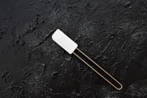 Stielschaber 20 cm aus Silikon