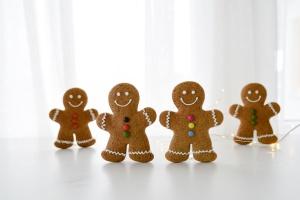 Backset Weihnachten Lebkuchen: Lebkuchenmänner