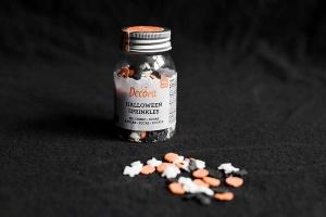 Halloween, Zucker-Streudekor dreifarbig, ca. 10 mm, 60 g