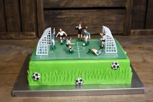Backset: Motivtorte Fußball