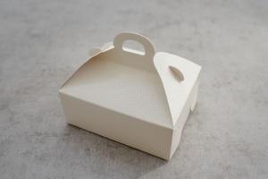 Gebäckbox weiß 15x12x6 cm, 5 Stück