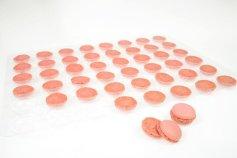 Macarons pink, Ø 3,5 cm, 48 Stück