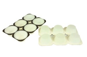 Muffin-Papierbackformen, weiß, 48 Stück