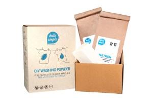 Waschpulver-Box, Bio-Oliven-/Kokoskernseife, 700g