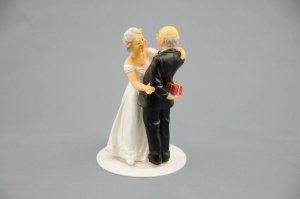 Brautpaar Älteres Paar, ca. 12 cm, aus Polyresin