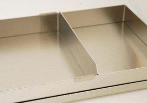 Varioschiene 5 cm für das Backblech mit Rahmen