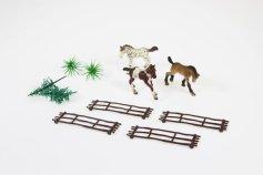 Pferde-Set für Thementorten / Pferde und Zubehör