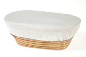 Bezug für lange Gärkörbe /  Brotgewicht bis 750 g