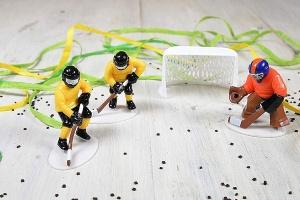 Eishockey-Set für Thementorten