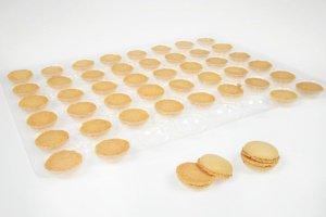 Macarons natur, Ø 3,5 cm, 48 Stück