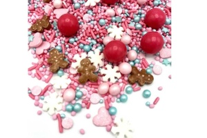 Streusel Mix Candy Land, Bunt, 90 g